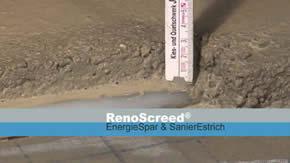 RenoScreed® EnergieSpar & Sanier Estrich